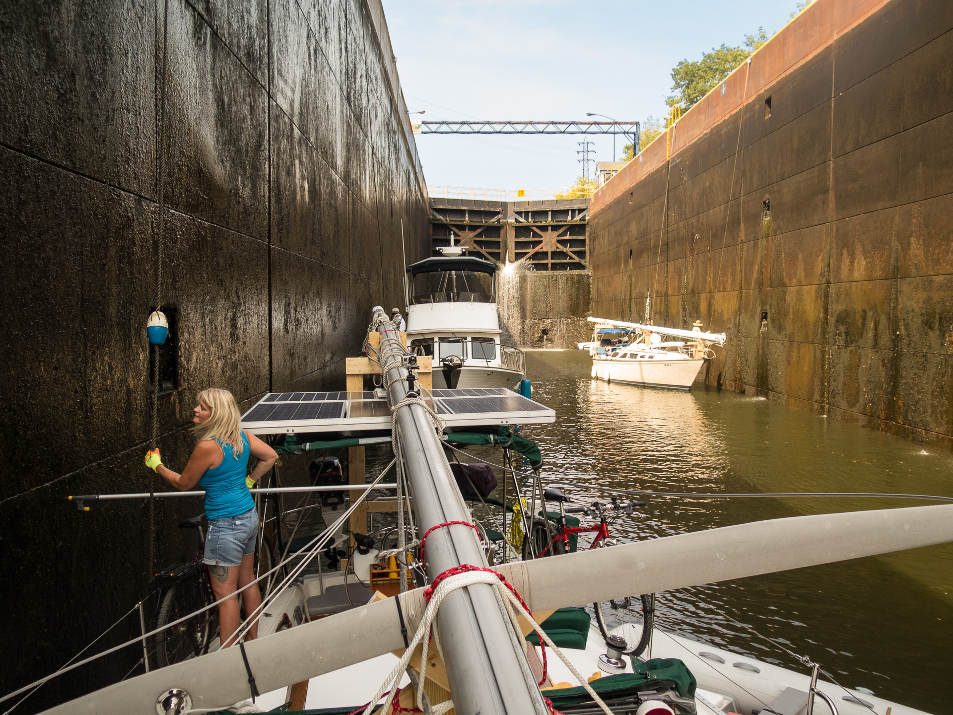 Going Through the Locks